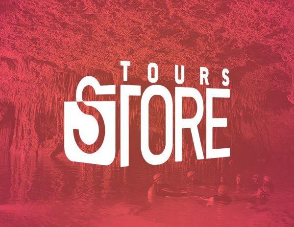 Sitio web para Tours Store